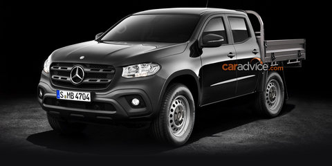 2018 Mercedes-Benz X-Class cab-chassis confirmed