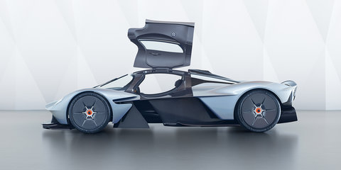 "Aston Martin Valkyrie design showcased, British hypercar ""95 per cent of the way there"""