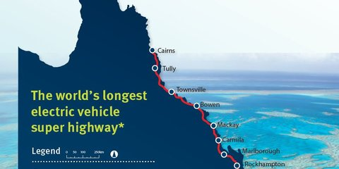 Queensland 'Electric Super Highway' coming, and it'll be free