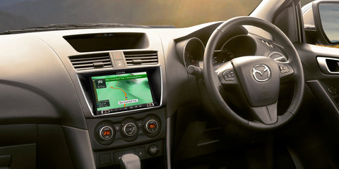 2017 Mazda BT-50: Alpine infotainment and navigation added as prices go up