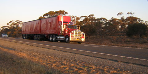 Interview: Tony the truckie tells us what it's like to be a truck driver
