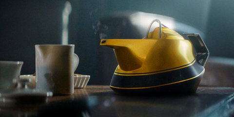 Renault celebrates 40 years of F1 with an actual 'yellow teapot'