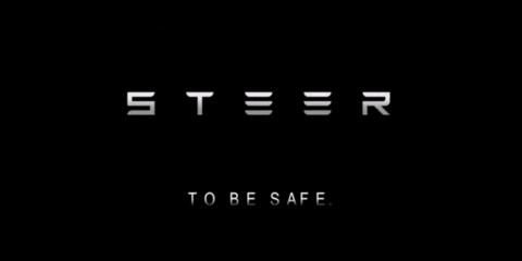 Steer device wakes sleepy drivers by electric shock