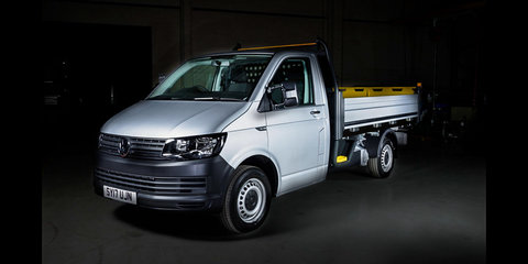 Volkswagen Transporter gets tippy truck conversion, and our inner child wants one