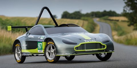 Aston Martin's own Vantage GTE soapbox racer is the best billy cart ever