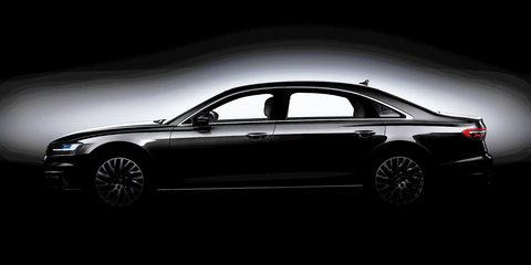 2018 Audi A8's side revealed