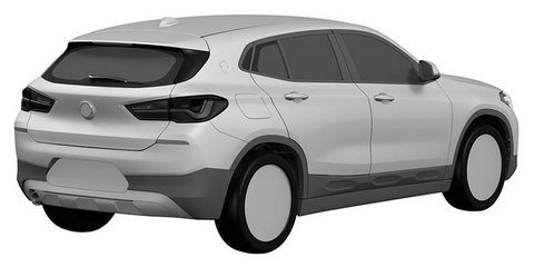 2018 BMW X2 design revealed in patent filing