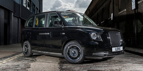 London Taxi TX: range-extended electric black cab launched