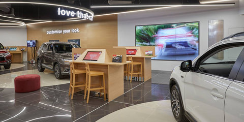 Mitsubishi sales concept store opens in Geelong