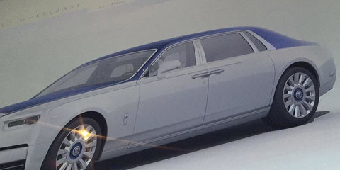 2018 Rolls-Royce Phantom revealed in leaked brochure
