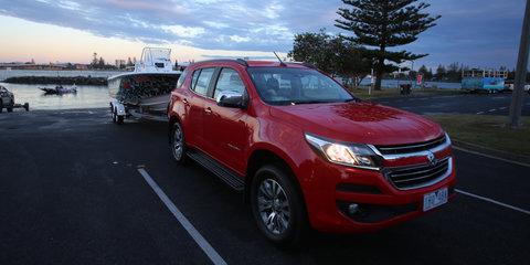 2017 Holden Trailblazer LTZ review: Towing