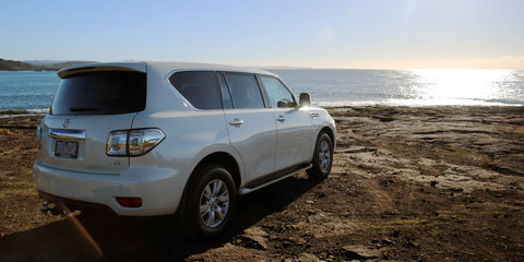 Surfing safari in the 2017 Nissan Patrol Ti