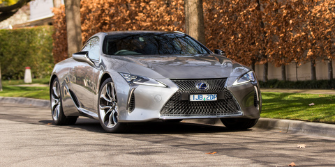 Lexus LC500h recalled