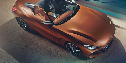 2018 BMW Z4: New-generation roadster previewed for Pebble Beach show