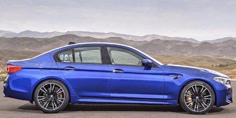 2018 BMW M5 leaked