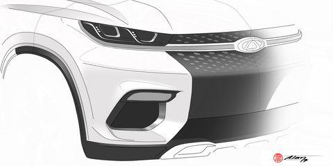 Chery 'M31T' SUV concept teased again ahead of Frankfurt