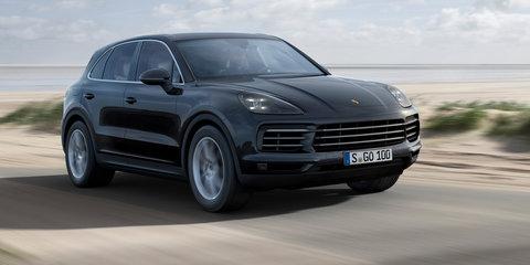 2018 Porsche Cayenne revealed, Australian debut due mid-year