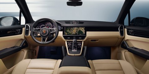 2018 Porsche Cayenne revealed in leaked pictures