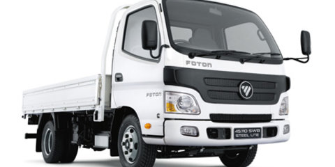 Foton returns to Australian market with Tunland, Sauvana, Aumark and CS2 van