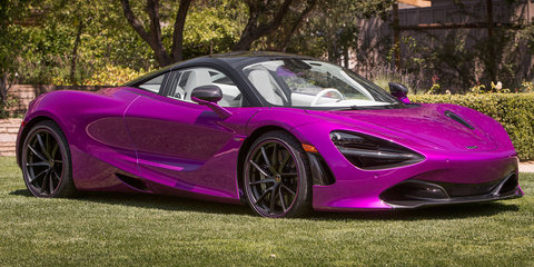 2018 McLaren 720S: 'Fux Fuchsia' one-off revealed for Pebble Beach