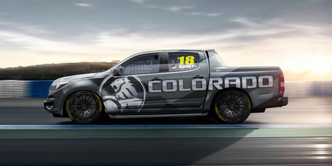 Holden reveals newest race car... and it's a ute!