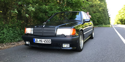Editor's Pick: Eifel mountains in the Mercedes 300 CE 6.0 AMG 'Hammer'