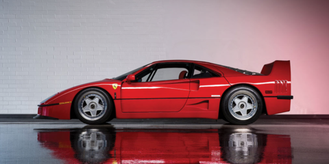 Two Ferrari F40s under the hammer this weekend