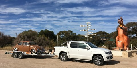 Volkswagen Amarok towing challenge – from Perth to Sydney with a '69 Beetle on the back