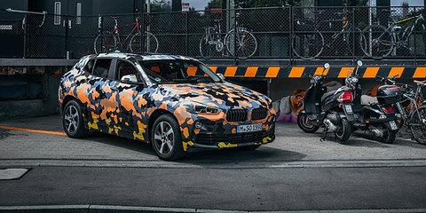 2018 BMW X2 teased again