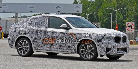 2019 BMW X4 M spied