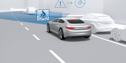 Bosch promoting active safety tech that protects cyclists