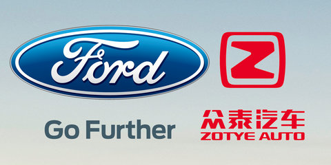 Ford, Zotye investigating joint venture EV brand for China