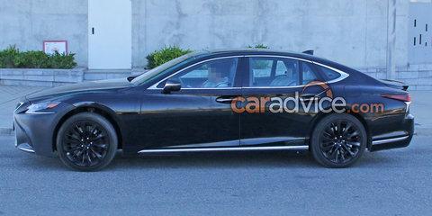 2018 Lexus LS 'F' spied