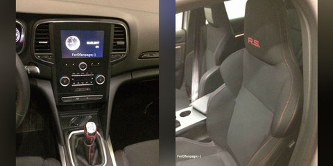 2018 Renault Megane RS interior and engine bay leaked
