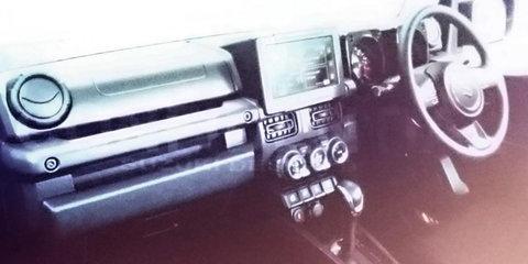 2018 Suzuki Jimny spied testing, design leaked in presentation