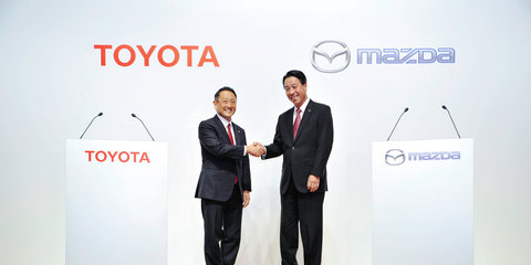 Toyota buys stake in Mazda, joint US factory, EV development planned