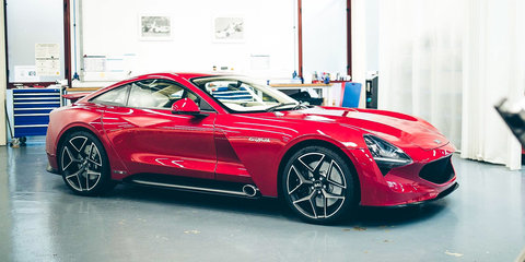 tvr griffith unveiled   seater marks official return  uk icon  caradvice