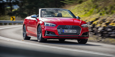 2018 Audi A5 & S5 Cabriolet pricing and specs