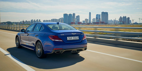 Genesis G70 to get manual option