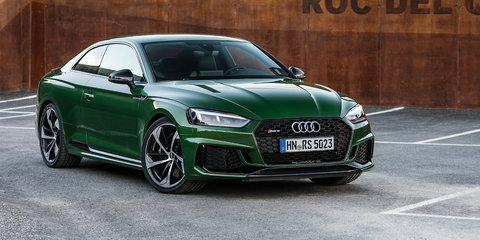 2018 Audi RS5 pricing and specs: Big turbo coupe here in December