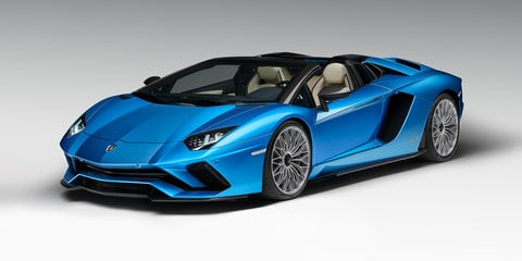 2018 Lamborghini Aventador S Roadster on sale from $825,530 - UPDATE
