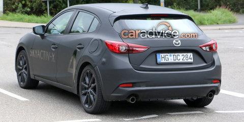 2019 Mazda 3 spied with SkyActiv-X engine