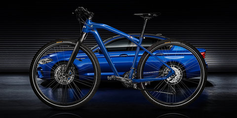 Can't afford a new 2018 BMW M5? Why not buy a carbon-fibre-infused M5-inspired bike?