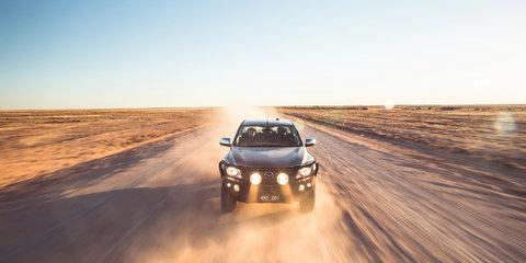 Mazda BT-50 tackles the Birdsville Track