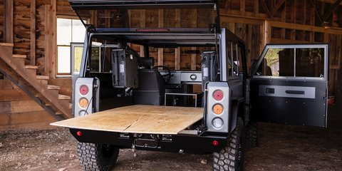 Meet the Bollinger B1, a hardcore electric off-roader