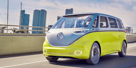Volkswagen boss discusses I.D. electric car family
