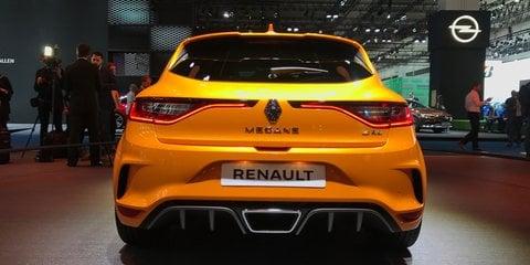 2018 Renault Megane RS breaks cover
