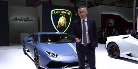Lamborghini says no to electric supercar, but yes to PHEV