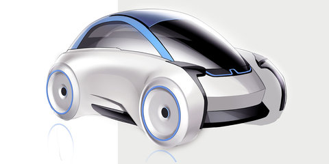 Designer reimagines BMW's Isetta as the cute bubble car of the future