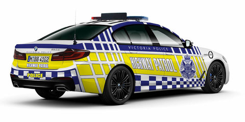 BMW 530d becomes NSW Highway Patrol vehicle